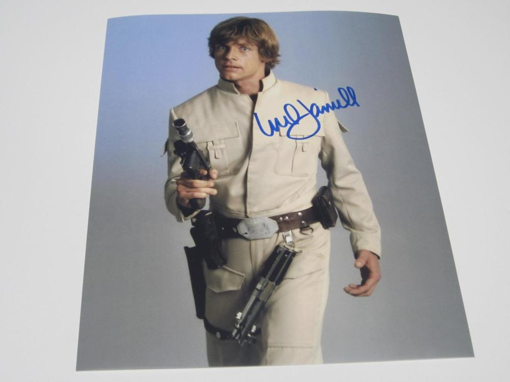 Mark Hamill Star Wars Signed Autographed 8x10 Photo Certified Coa