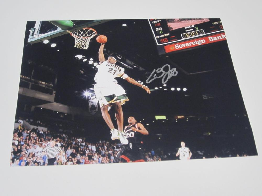 LeBron James St. Vincent St. Mary HS Signed Autographed 8x10 Photo Certified Coa