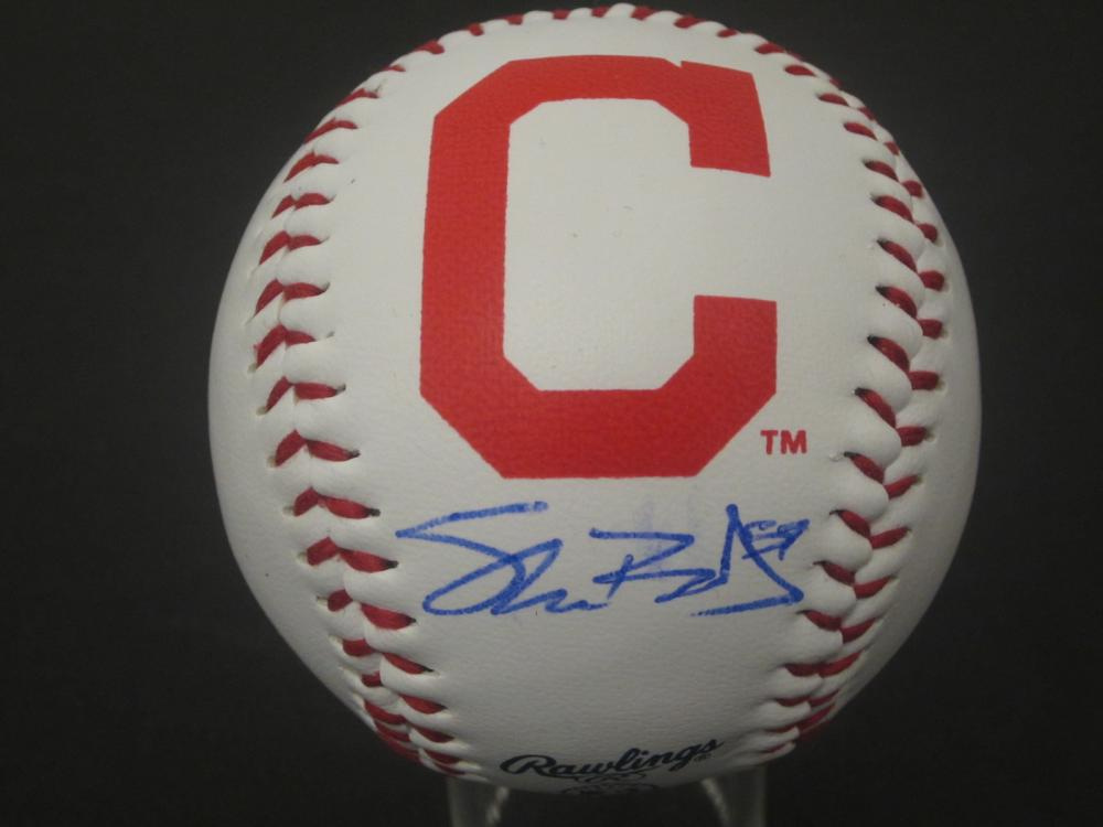 Shane Bieber Indians signed autographed Baseball Certified 5 STAR Coa