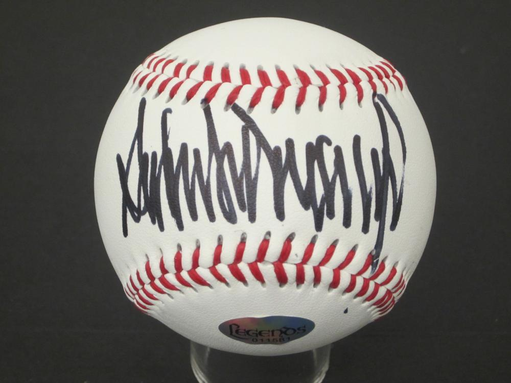 Donald Trump 45th President signed autographed Baseball Certified Coa