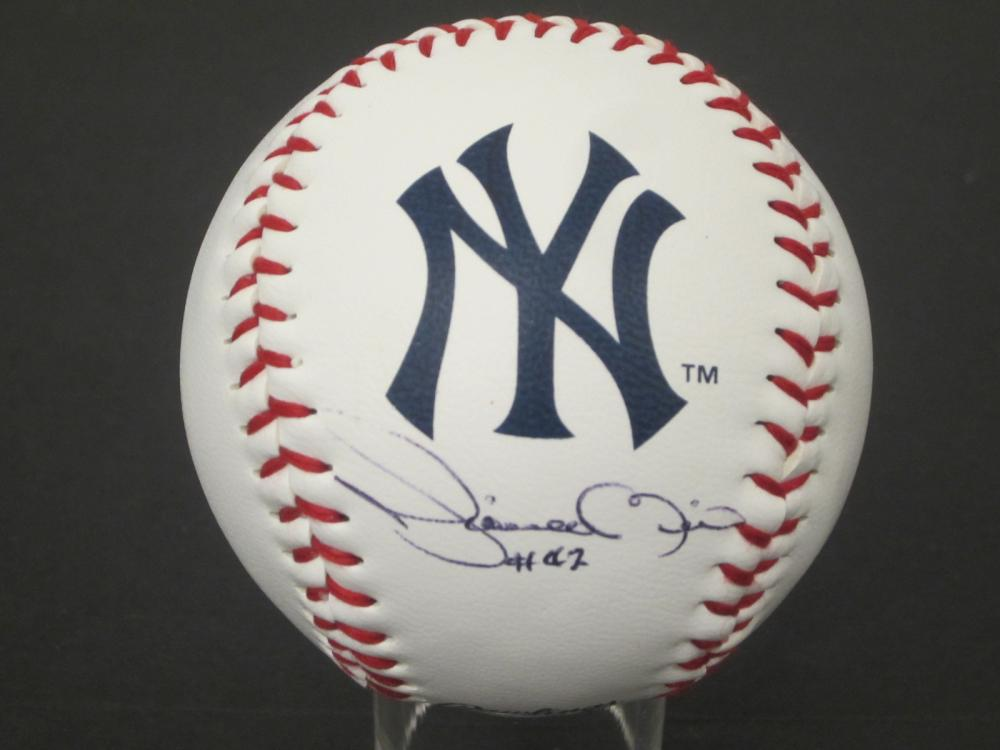 Mariano Rivera Yankees signed autographed Baseball Certified Coa