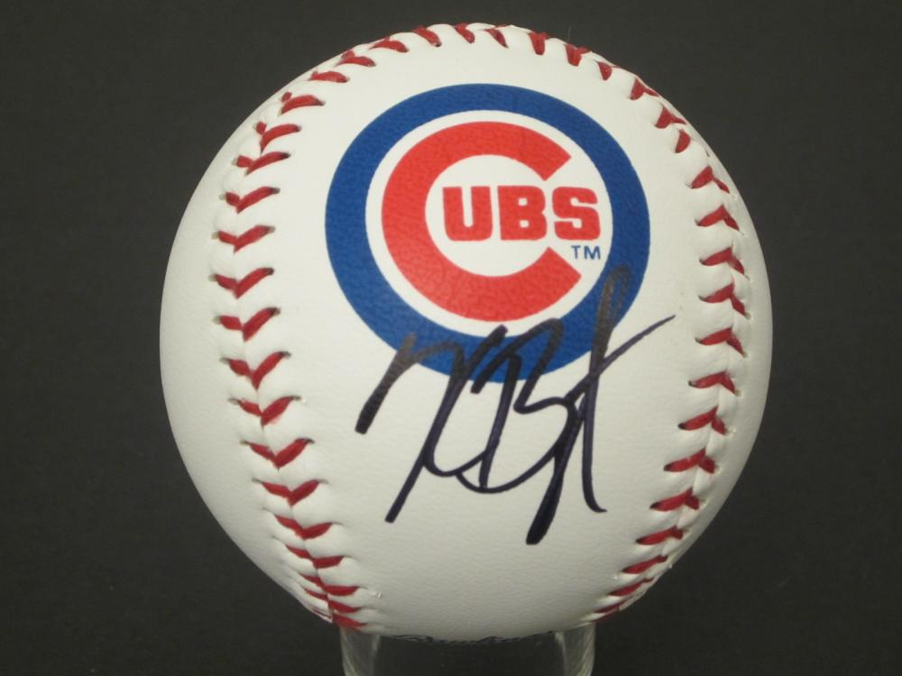 Kris Bryant Cubs signed autographed Baseball Certified Coa