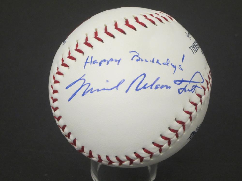 """Michael Nelson Trout"" Angels signed autographed Baseball Certified Coa"