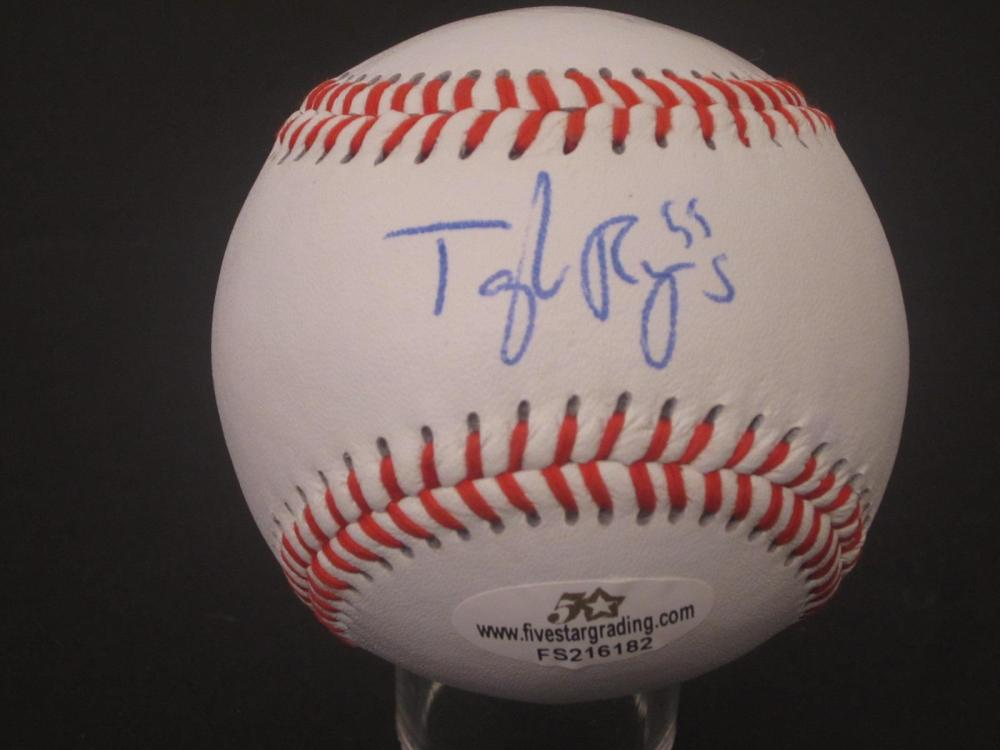 Taylor Rogers signed autographed Baseball Certified 5 STAR Coa
