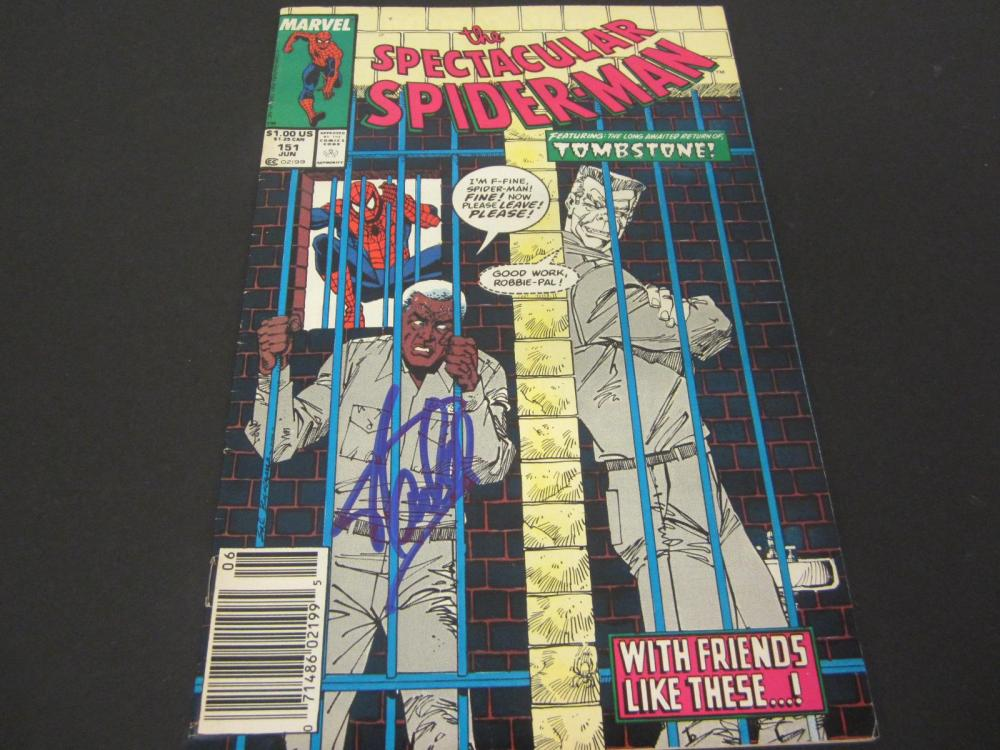 Stan Lee Marvel signed autographed Comic Book Certified Coa