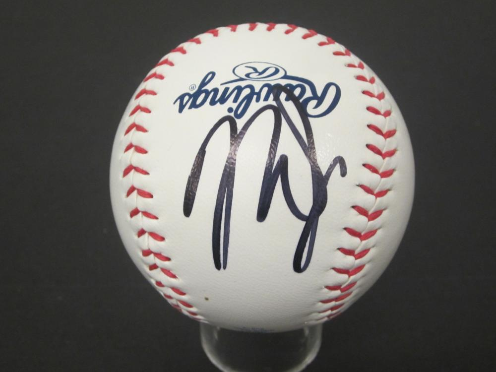 Mike Trout Angels signed autographed Baseball Certified Coa
