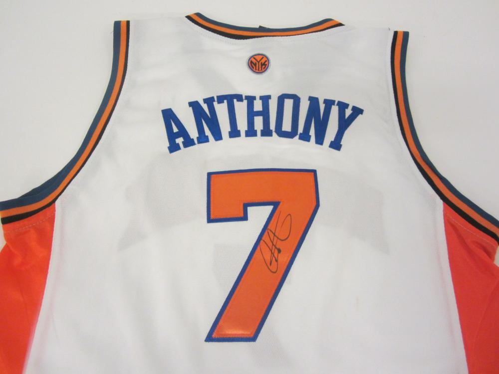 Carmelo Anthony Knicks signed autographed Jersey Certified Coa