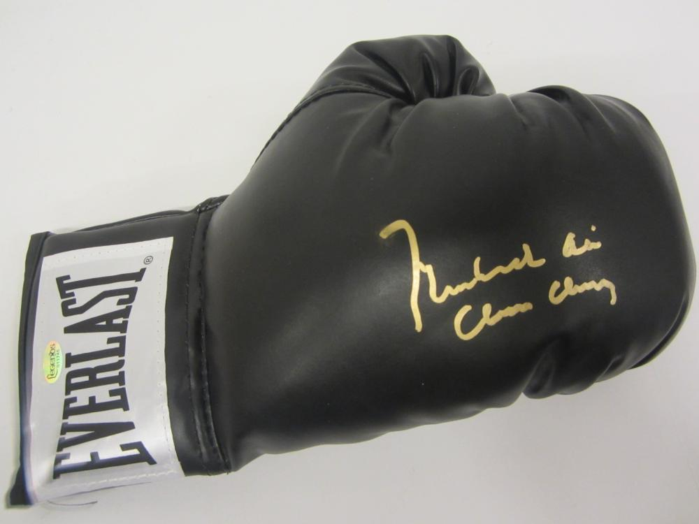 Muhammad Ali signed Autographed Boxing Glove Certified Coa