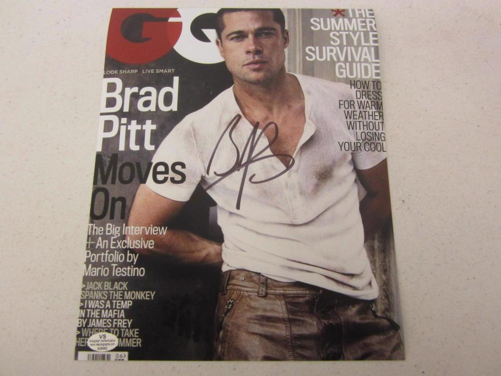 Brad Pitt signed autographed 8x10 photo Certified COA