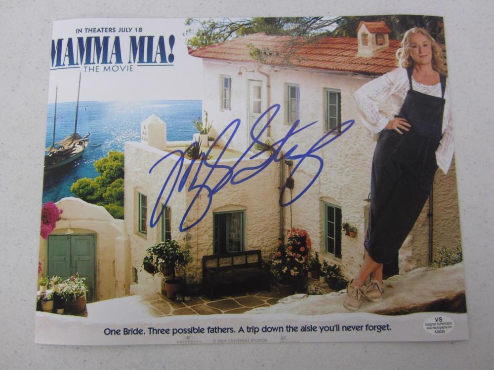 Meryle Streep signed autographed 8x10 photo Certified COA