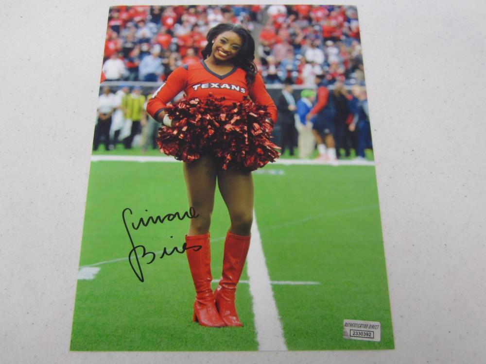 Simone Biles signed autographed 8x10 photo Certified COA