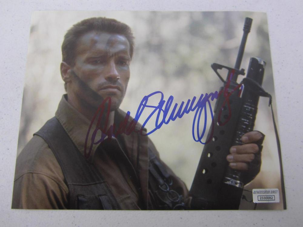 Arnold Schwarznegger signed autographed 8x10 photo Certified COA