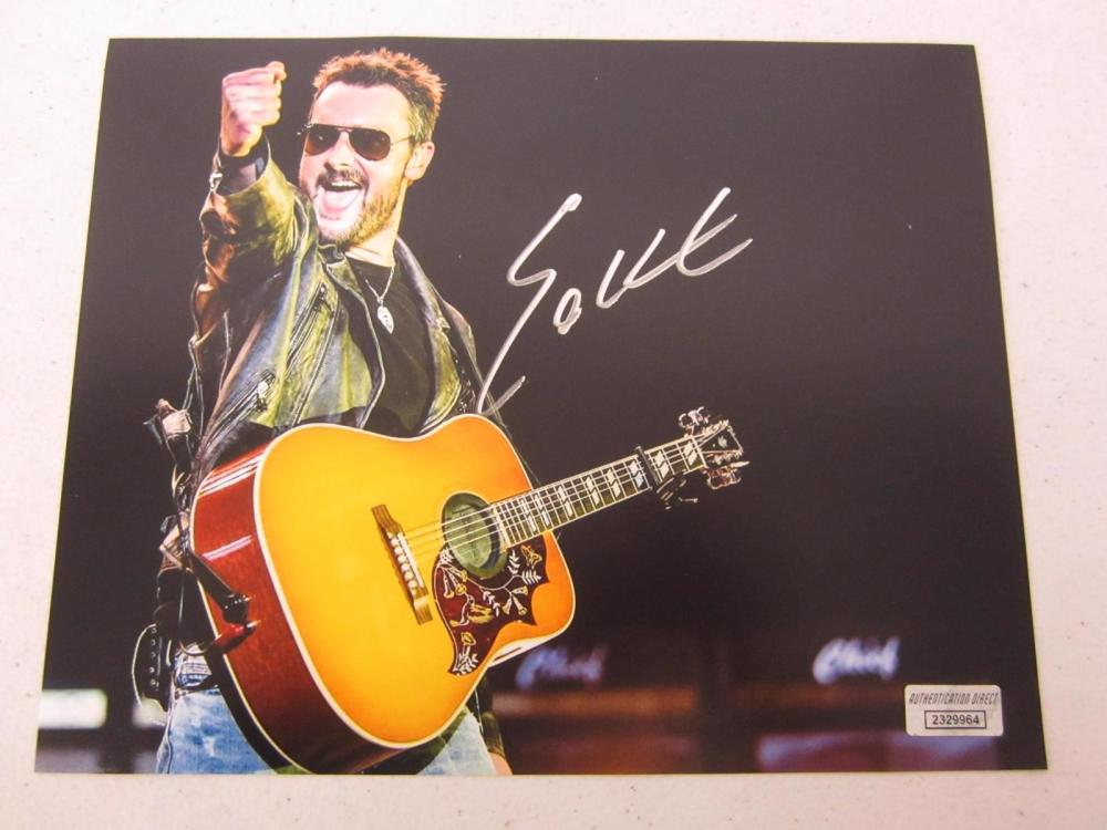 Eric Church signed autographed 8x10 photo Certified COA
