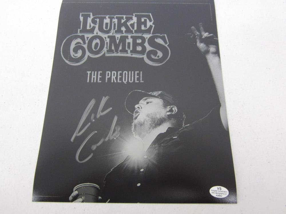 Luke Combs signed autographed 8x10 photo Certified COA