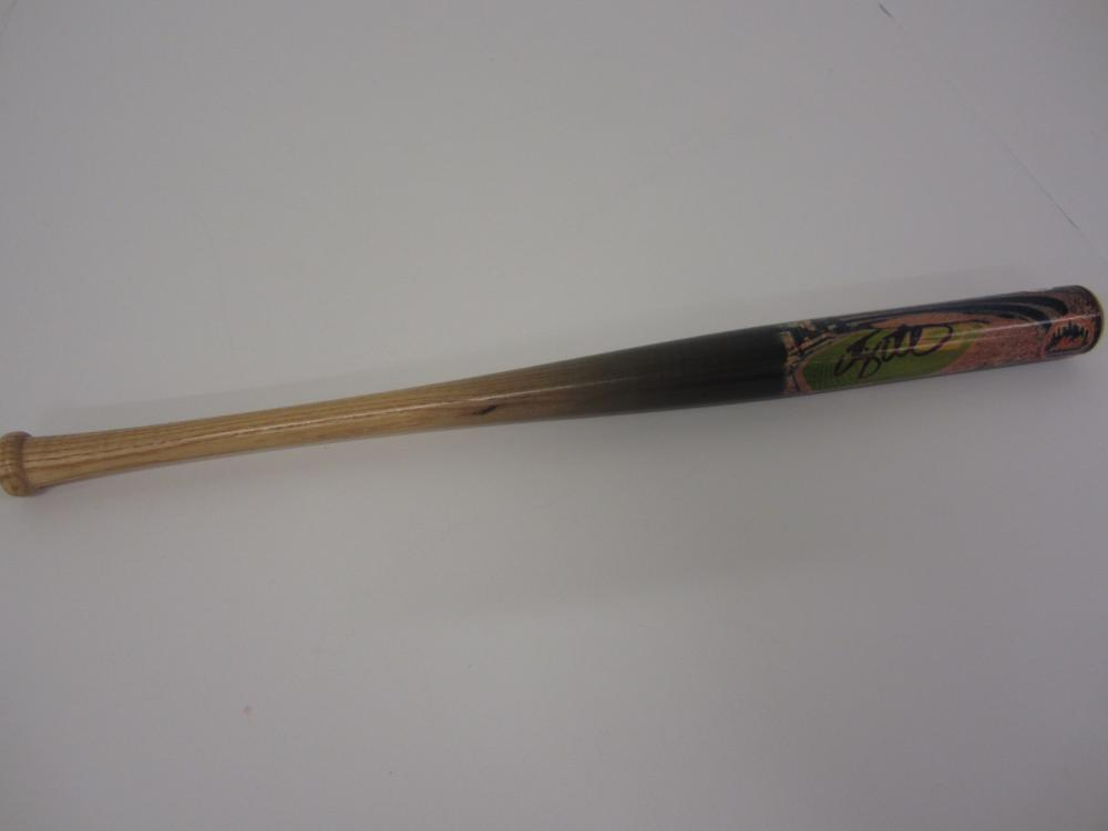 TIM TEBOW SIGNED AUTOGRAPHED METS MINI BAT PAAS COA