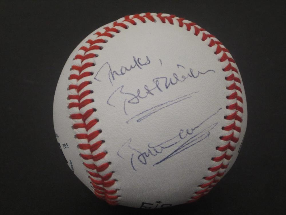 BILL CLINTON SIGNED AUTOGRAPHED BASEBALL COA  BEST WISH INC