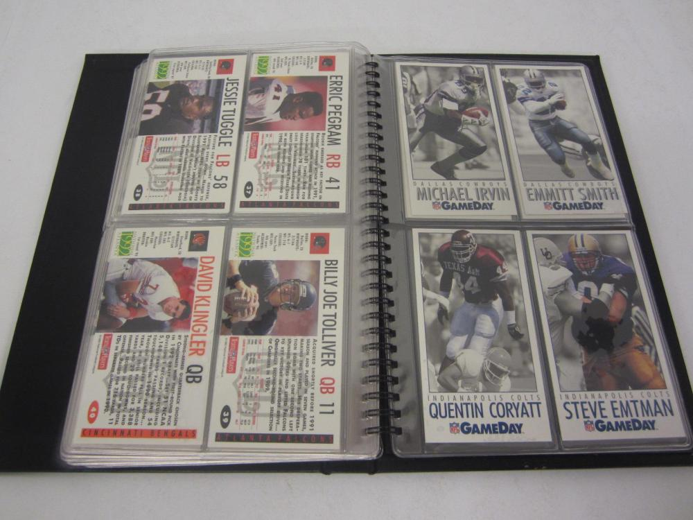 Lot 61: 1992 GAME DAY FOOTBALL INTRODUCTION SET COMPLETE