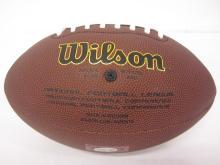 Lot 67: JACK LAMBERT SIGNED AUTOGRAPHED NFL SUPERGRIP FOOTBALL COA