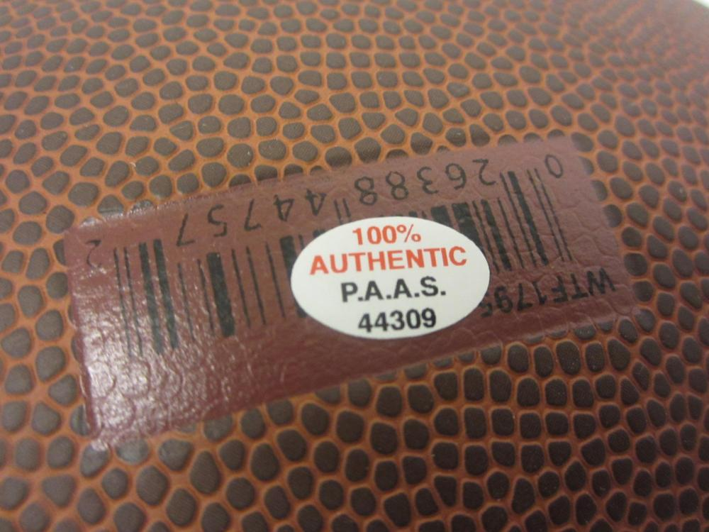 Lot 70: CLAY MATTHEWS SIGNED AUTOGRAPHED NFL SUPERGRIP FOOTBALL COA
