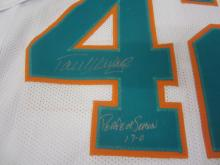Lot 73: PAUL WARFIELD SIGNED AUTOGRAPHED DOLPHINS JERSEY COA