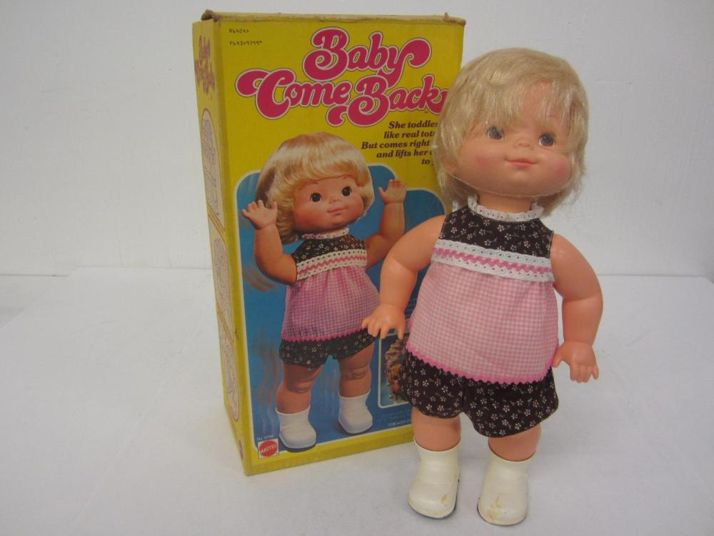 1976 BABY COME BACK DOLL WITH BOX