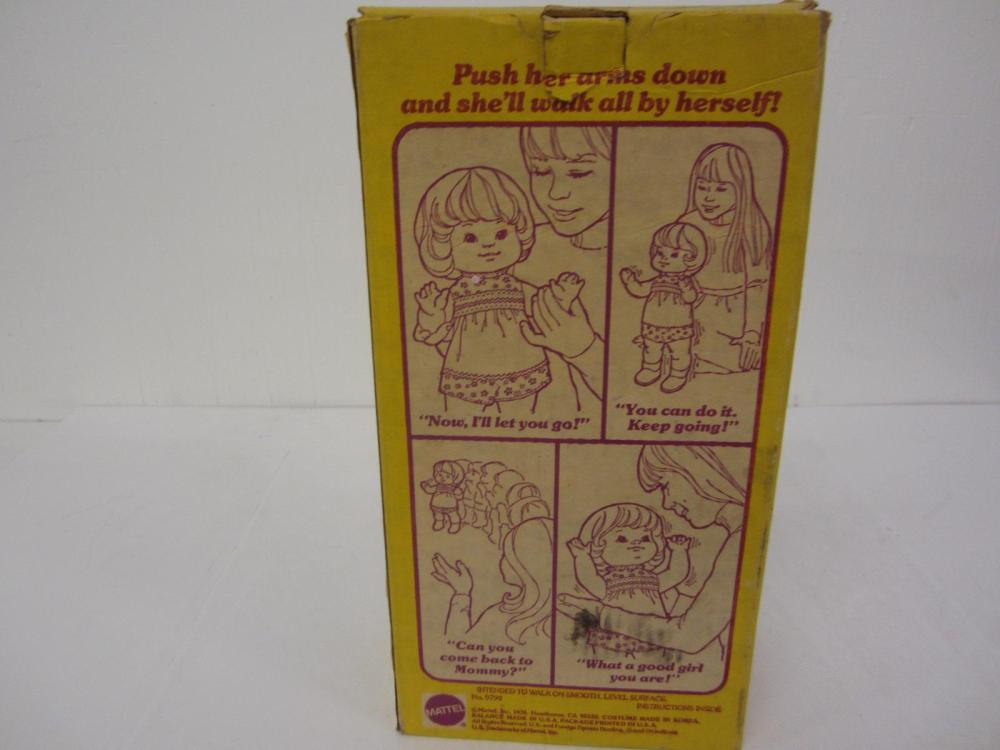 Lot 76: 1976 BABY COME BACK DOLL WITH BOX
