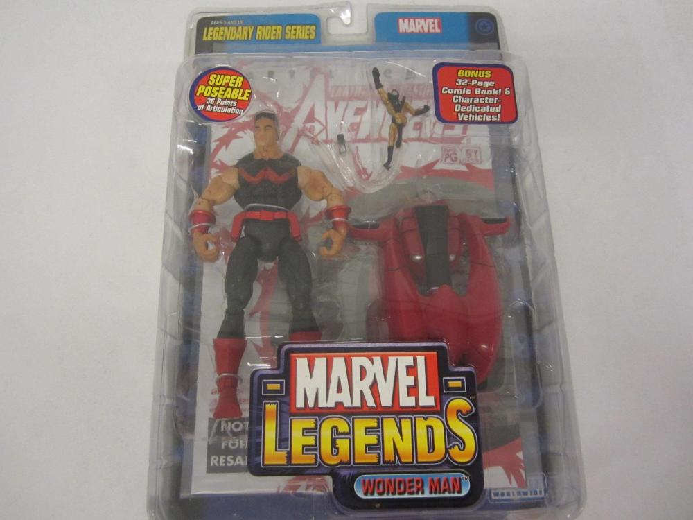 MARVEL LEGENDS WONDER MAN ACTION FIGURE SEALED
