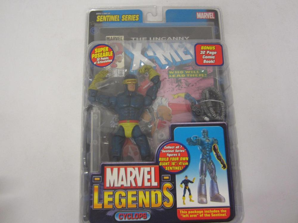 MARVEL LEGENDS CYCLOPS ACTION FIGURE SEALED