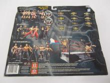 Lot 88: WWE TREACHEROUS TRIOS BRAIN KENDRICK,JIMMY WANG YANG,PAUL LONDON ACTION FIGUERS SEALED