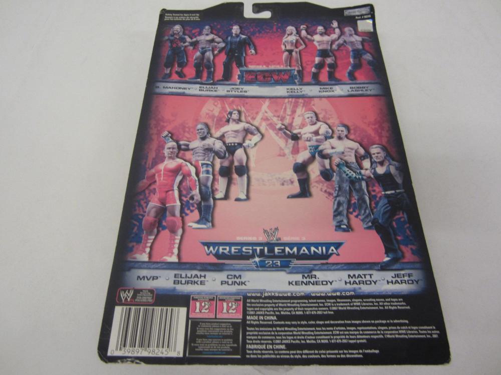 Lot 91: WWE WRESTLEMANIA 23 MVP FIGURE SEALED