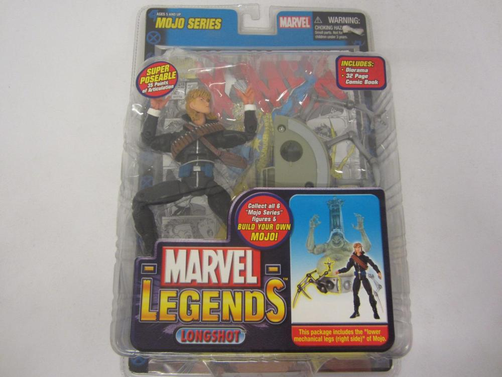 MARVEL LEGENDS LONGSHOT FIGURE SEALED