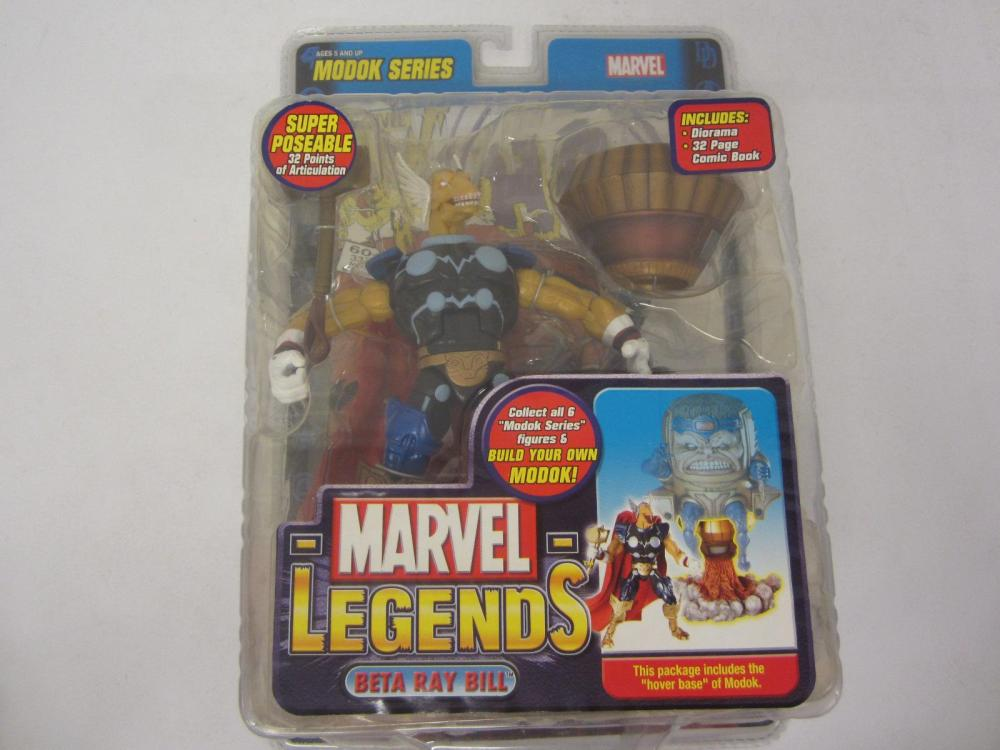 MARVEL LEGENDS  BETA RAY BILL FIGURE SEALED