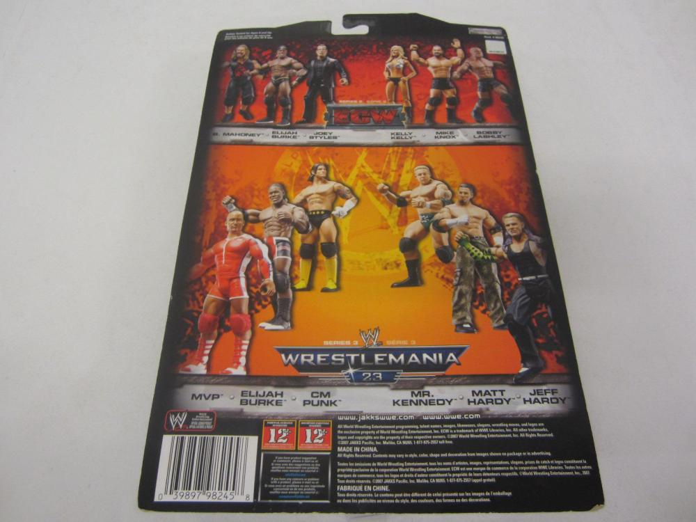 Lot 94: WWE WRESTLEMANIA 23 CM PUNK FIGURE SEALED