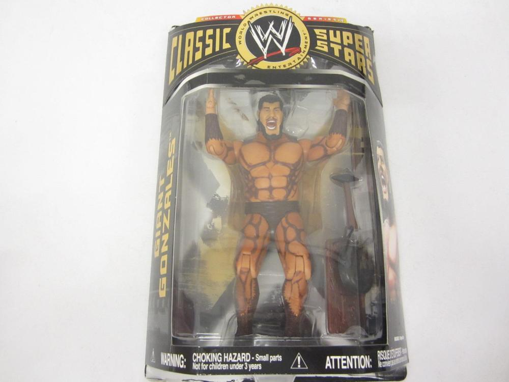 WWE CLASSIC SUPER STARS GIANT GONZALES SEALED