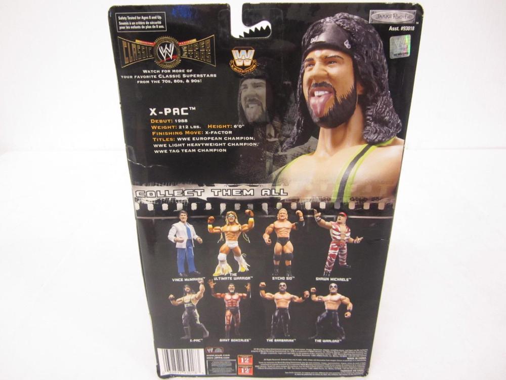 Lot 97: WWE CLASSIC SUPER STARS X-PAC SEALED