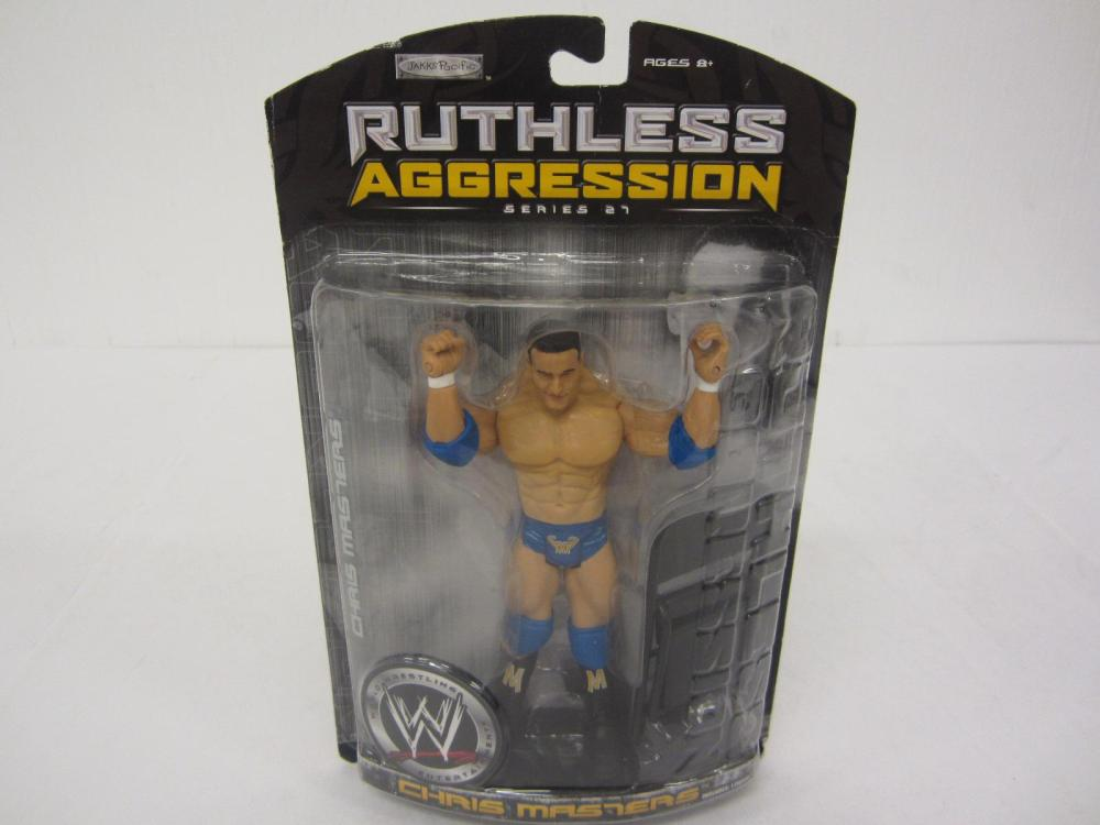 WWE RUTHLESS AGGRESSION CHRIS MASTERS FIGURE SEALED