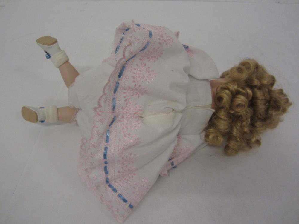 Lot 127: BLOND DOLL SIGNED