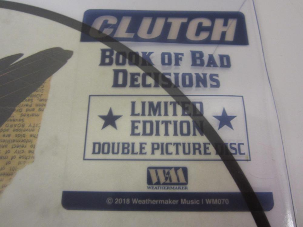 Lot 132: CLUTCH BAND SIGNED AUTOGRAPHED RECORD COA TIM,JEAN,NEIL