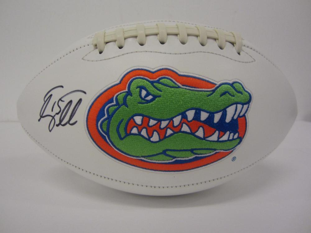 TIM TEBOW SIGNED AUTOGRAPHED FLORDIA FOOTBALL COA