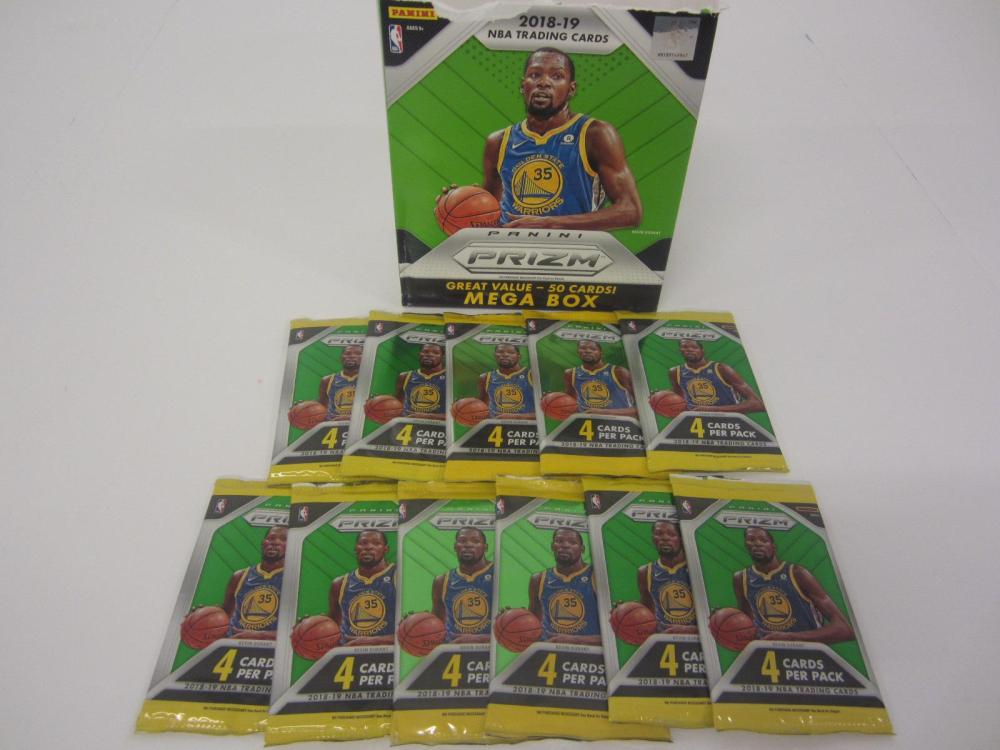 2018-2019 PANINI PRIZM BOX 11 PACKS