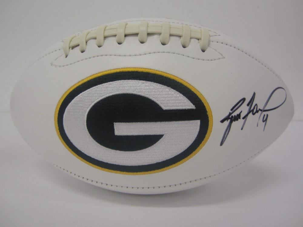 BRETT FAVRE SIGNED AUTOGRAPHED PACKERS FOOTBALL COA