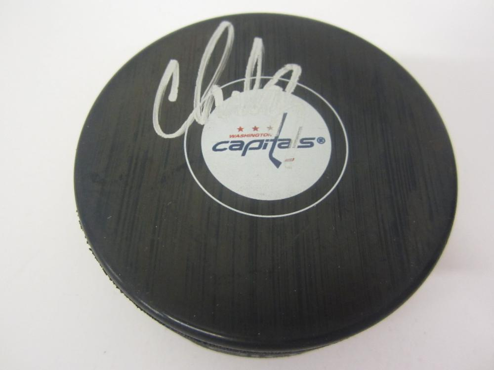 Lot 149: ALEXANDER OVECHKIN SIGNED AUTOGRAPHED CAPITALS HOCKEY PUCK COA