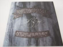 Lot 163: JON BON JOVI SIGNED AUTOGRAPHED RECORD COA