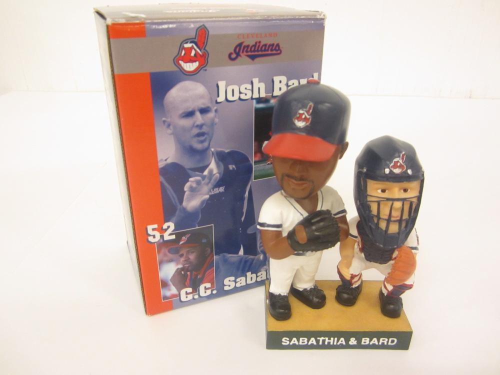 SABATHIA & BARD CLEVELAND INDIANS BOBBLE HEAD