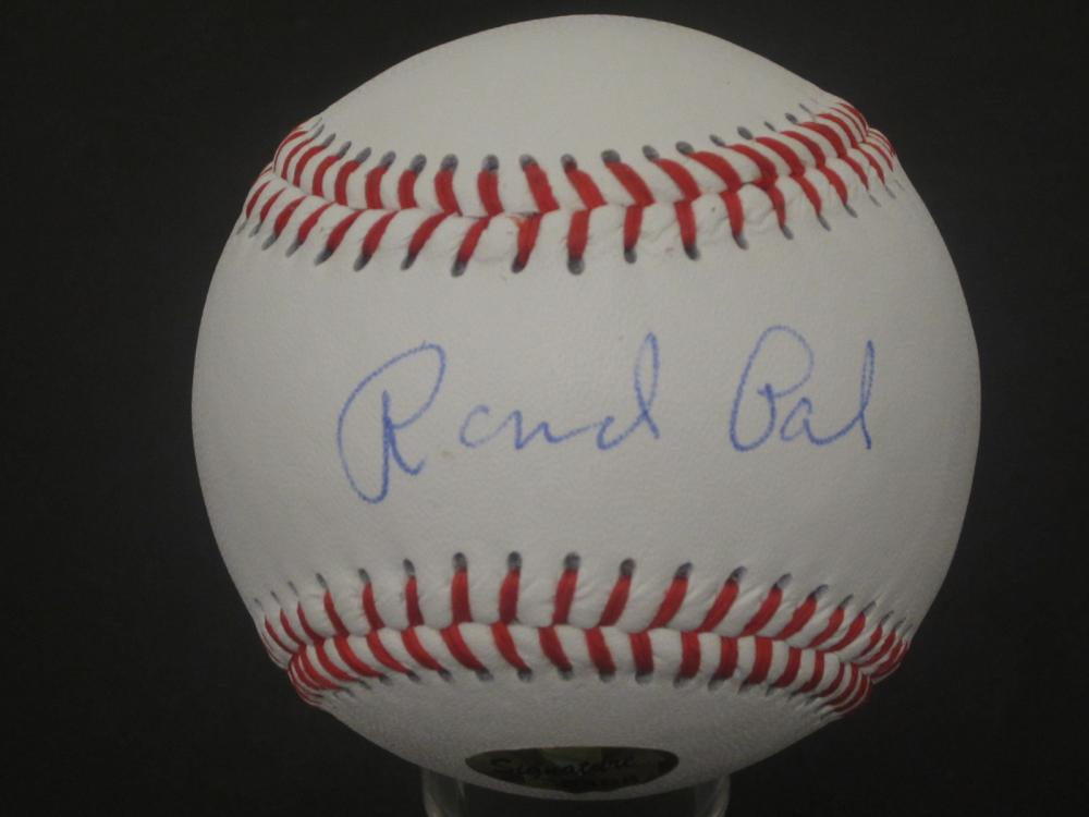 RAND PAUL SIGNED AUTOGRAPHED BASEBALL COA