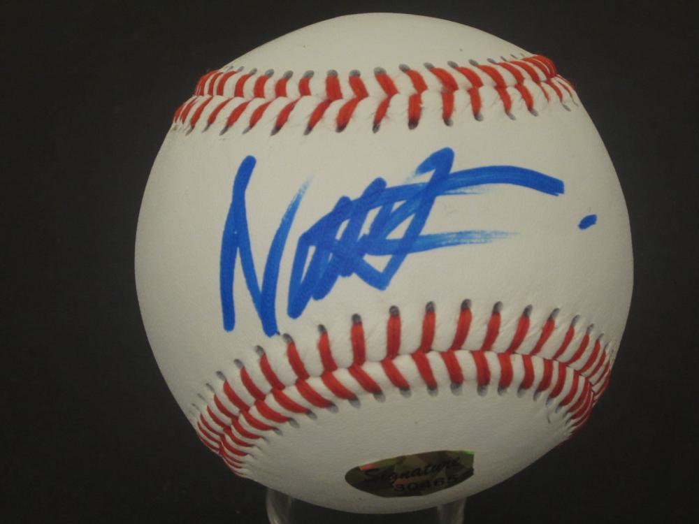 NICK CANNON SIGNED AUTOGRAPHED BASEBALL COA