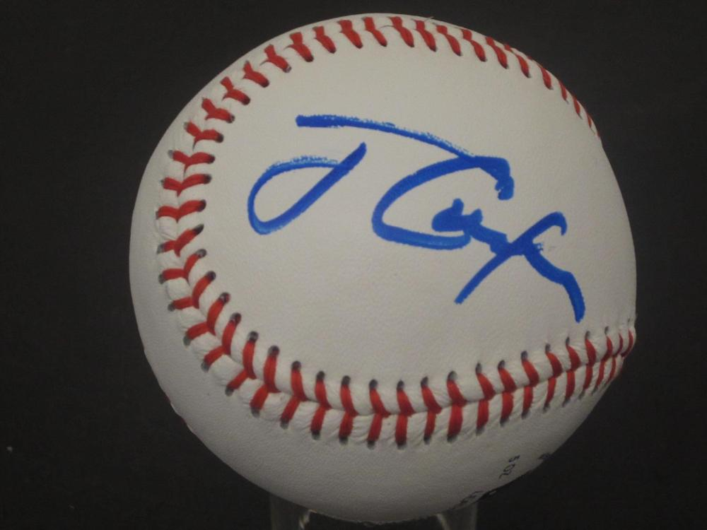 JIMMY CARTER SIGNED AUTOGRAPHED BASEBALL COA