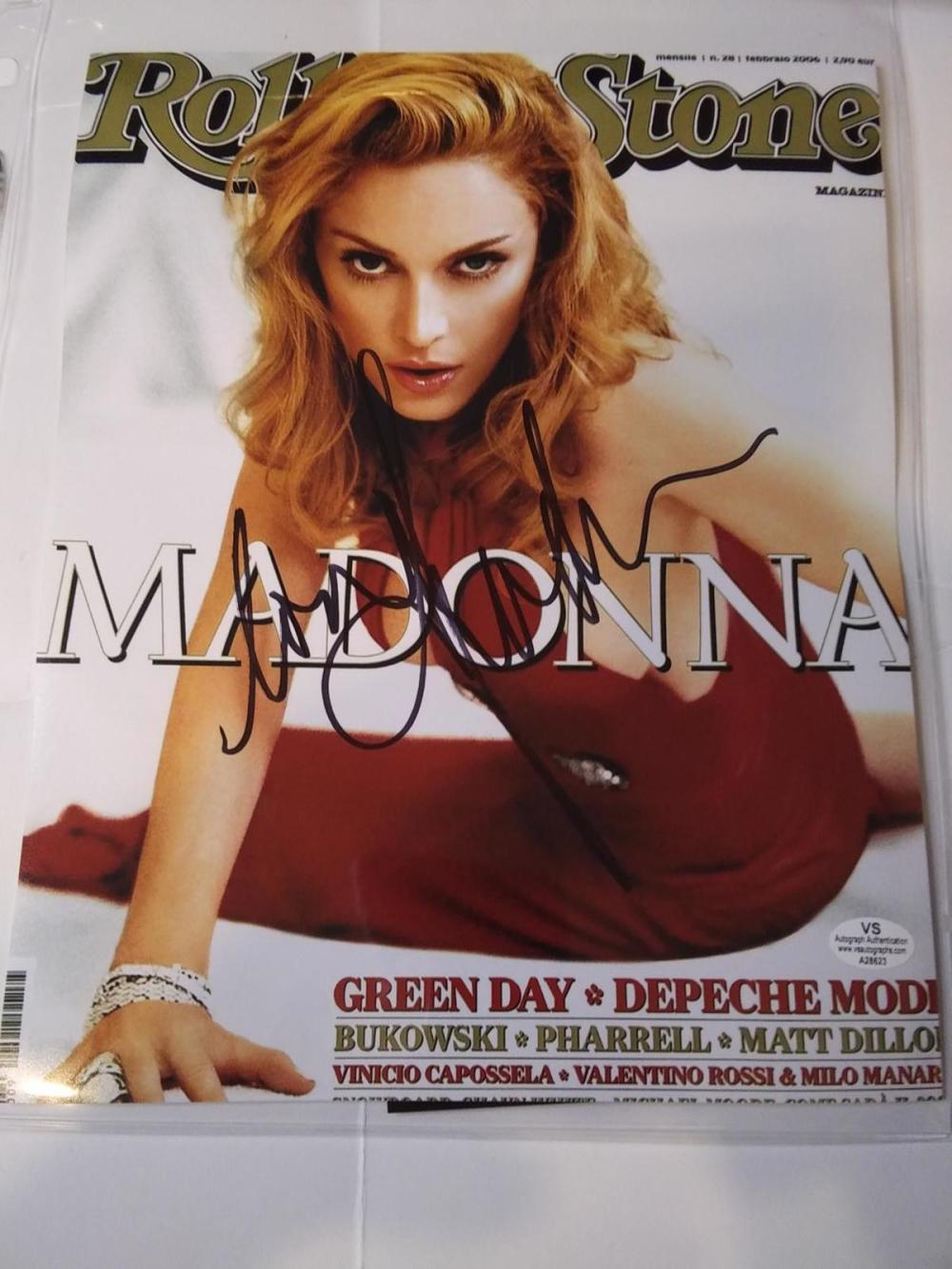 Madonna signed autographed 8x10 photo Certified COA