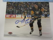 MARIO LEMIEUX PENGUINS SIGNED AUTOGRAPHED 8X10 PHOTO CERTIFIED AAA COA