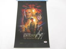 EWAN MCGREGOR, NATALIE PORTMAN STAR WARS SIGNED AUTOGRAPHED 11X17 PHOTO CERTIFIED AAA COA